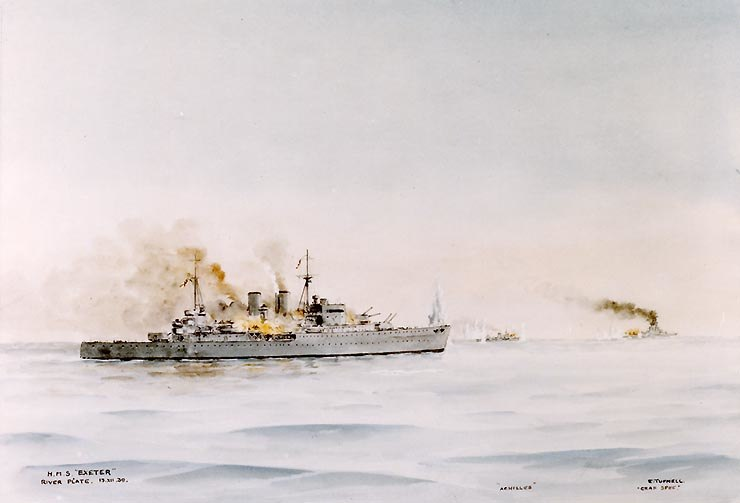 HMS Exeter River Plate