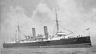 HMS Hermione (1893) - Image: HMS Hermione (1893)