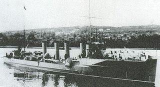 HNoMS <i>Draug</i> (1908) Draug-class destroyer