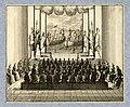HUA-32379-Afbeelding van een toneelvoorstelling na afloop van het diner gegeven door de Portugese ambassadeur de graaf van Tarouca tijdens de onderhandelingen o.jpg