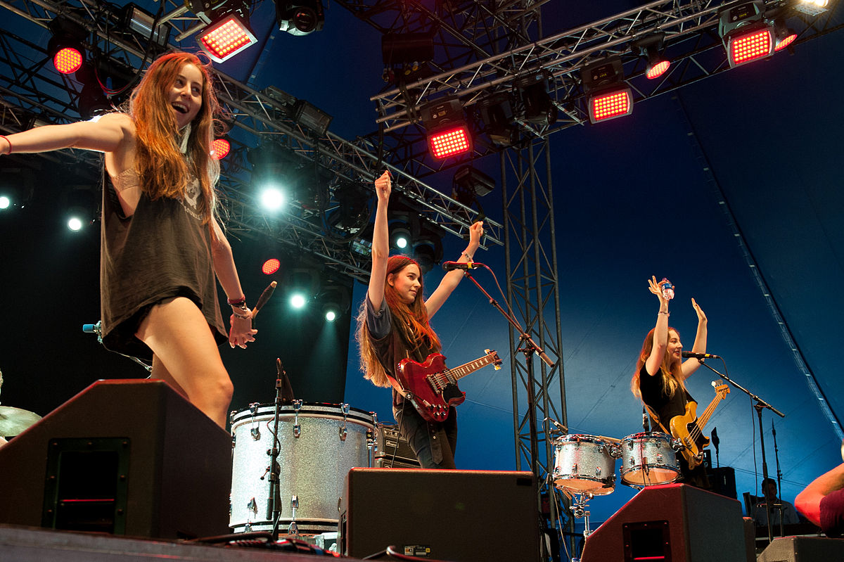 HAIM American pop rock band from Los Angeles