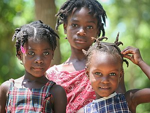 Structural violence in Haiti - Haitian girls