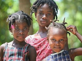 Structural violence in Haiti - Haitian girls