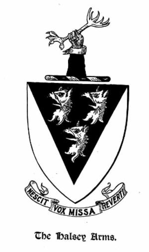 Thomas Halsey (1591–1679) - Image: Halsey Arms
