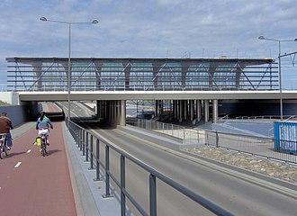 Leidschenveen RandstadRail station - Image: Halte Leidschenveen