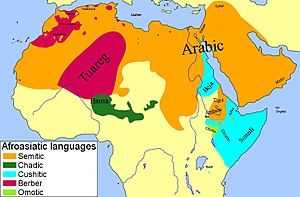 "Hamites - Hamites were said to have spoken ""Hamitic languages"", which consisted of Afroasiatic (Hamito-Semitic) languages of the Berber, Cushitic and Egyptian branches."