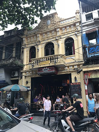 Shophouse - Shophouses in Old Quarter of Hanoi, Vietnam