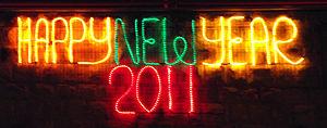 Happy New Year English 102