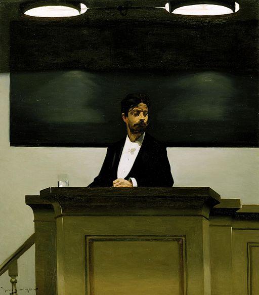 Harald Slott-Møller - Georg Brandes ved universitetet i København