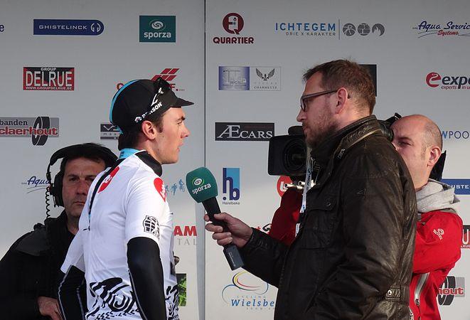Harelbeke - Driedaagse van West-Vlaanderen, etappe 1, 7 maart 2015, aankomst (B56).JPG