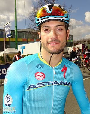 Andrea Guardini - Andrea Guardini at the 2015 E3 Harelbeke