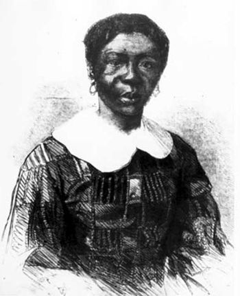 Harriet Scott, wife of Dred Scott. Noted from ...