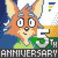 HarvettFox96 - User Avatar - Harvett Fox's Fifth Anniversary.png