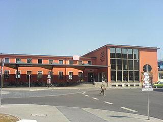 Ingolstadt Hauptbahnhof railway station in Ingolstadt, Germany