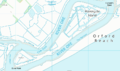 Havergate Island OS map.png