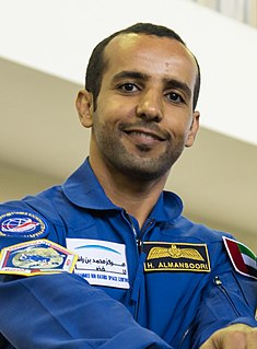 Hazza Al Mansouri Emirati astronaut