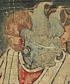 Head detail, Art Gallery of Greater Victoria - Buddhist Ten Judgements of Hell - 17th Century - detail 05 (19897137894) (cropped).jpg