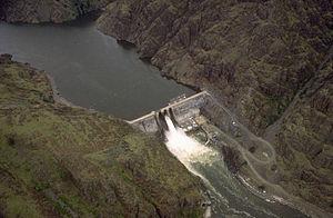 Hells Canyon - Hells Canyon Dam