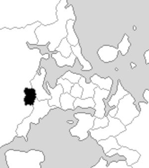 Henderson (New Zealand electorate) - Henderson electorate boundaries between 1993 and 1996.