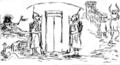 Henric Cortazzi - Intrare la ședința Divanului ad-hoc, 18 dec 1857.png