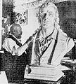 Henry Baerer with Schiller bust.jpg