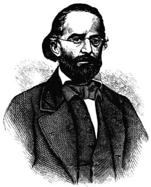 Anzeiger des Westens - Henry Boernstein, one of several editors and proprietors, starting in 1850