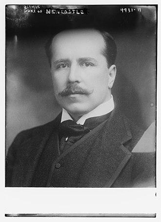Francis Pelham-Clinton-Hope, 8th Duke of Newcastle - The Duke of Newcastle in 1919