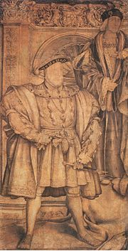 Henry VIII and Henry VII, by Hans Holbein the Younger.jpg