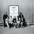 Herhold Pelze, Inhaber und Mitarbeiter vor der Pelzmesse Frankfurt am Main.jpg