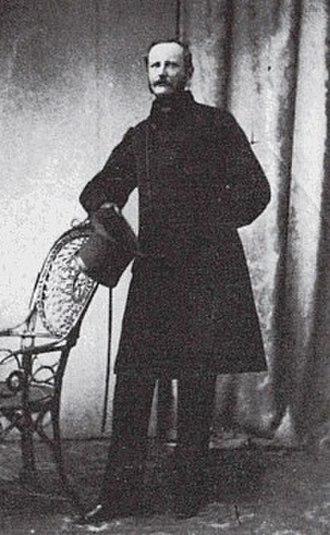 Herman Severin Løvenskiold - Baron Herman Severin Løvenskiold. Copenhagen, Denmark. circa 1860