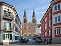 Herz Jesu Kirche, Kolpingplatz Bregenz 2.JPG