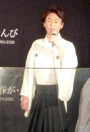 Kiyoshi Hikawa - Performing in Shimbashi, 2017