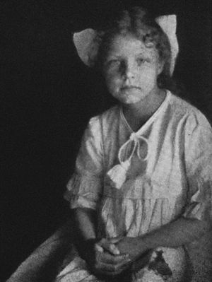 Hilda Conkling - Hilda Conkling as pictured in Poems by a Little Girl