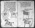 Hindi Manuscript 191, fols 58 verso 59 recto Wellcome L0024251.jpg