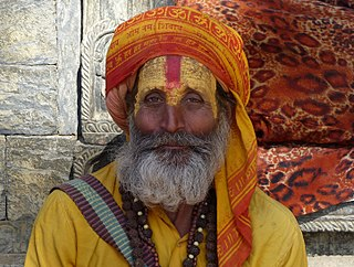 Sadhu religious ascetic or holy person in Hinduism