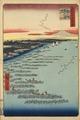 Hiroshige Hundred views Edo 109 Minami-shinagawa samezu kaigan (南品川鮫洲海岸).tif