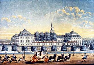 Hirschholm Palace - Image: Hirschholm (Bruun)