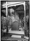 Historic American Buildings Survey, Jack Boucher, Photographer, October, 1961 SERVICE STAIR. - Ernst H. Altgelt House, 226 King William Street, San Antonio, Bexar County, TX HABS TEX,15-SANT,22-3.tif