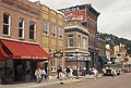 Historic downtown Deadwood, SD Main Street shops 2.jpg