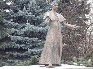 Andrej Hlinka - Andrej Hlinka statue in Žilina
