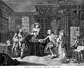 Hogarth's Marriage a la mode, The Quack Doctor's Studio Wellcome L0005337.jpg