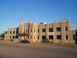 St. Paul Downtown Airport - Image: Holman field Building