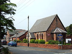 Holmeswood Methodist church and school.JPG