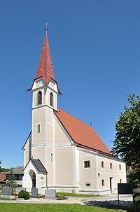 Holzhausen Kirche Südwest.JPG