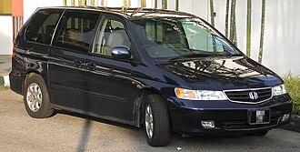 Honda Odyssey (North America) - Honda LaGreat (JDM)