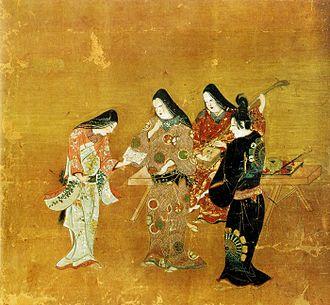 Senhime - Senhime and Honda Heihachirō, a 17th-century depiction, Tokugawa Art Museum, Nagoya