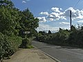 Honeypot Lane Road Sign from Woodgreen Road, Upshire, Essex - geograph.org.uk - 227701.jpg