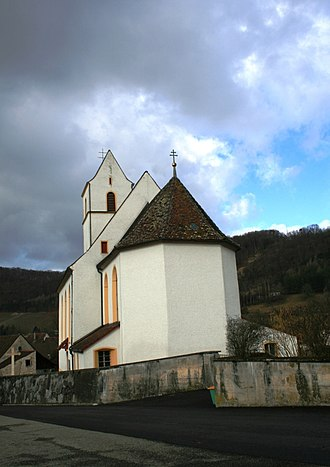 Hornussen, Aargau - Hornussen church