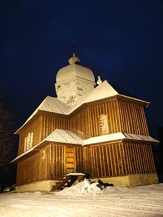 Hoszowczyk - Greek Catholic church.