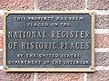 Hotel Texas NRHP plaque.jpg